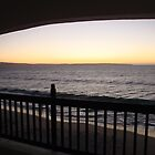 Sunset from Club Mykonos by filiola