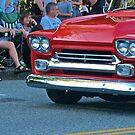 Red Viintage Car by carls121