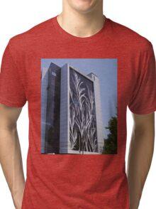 Office Building, Bucharest, Romania Tri-blend T-Shirt
