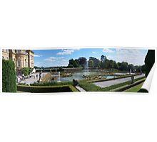 Blenheim Palace gardens Poster