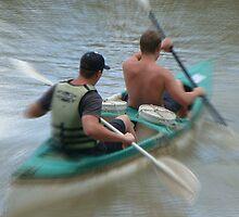 Rowing the Gariep by filiola