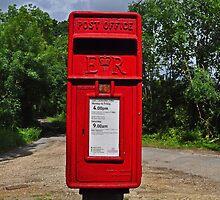 Post Box in Nowhere by Kuma55