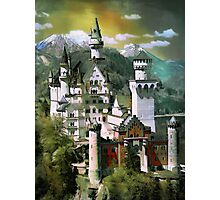 Schloss(Castle) Neuschwanstein Photographic Print