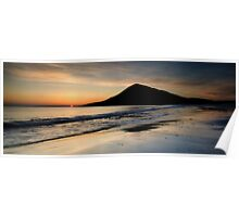 Isle of Harris, Sunset Poster