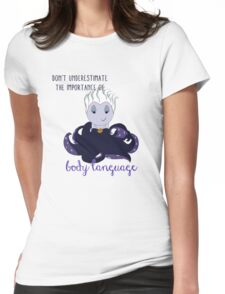 The Importance of Body Language Womens Fitted T-Shirt