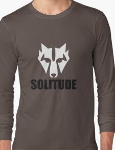 Solitude Wolf Long Sleeve T-Shirt