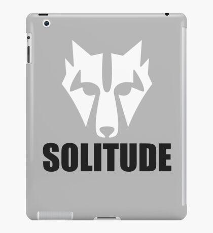 Solitude Wolf iPad Case/Skin