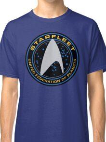 Star Trek - Starfleet / UFP Logo Screen (Screen Accurate!) Classic T-Shirt