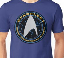 Star Trek - Starfleet / UFP Logo Screen (Screen Accurate!) Unisex T-Shirt