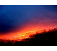 Sequential Sunset Photographic Print