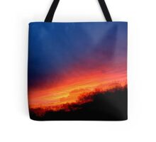Sequential Sunset Tote Bag