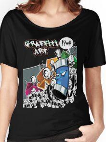 Graffiti Art Women's Relaxed Fit T-Shirt