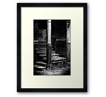 Echoes of Footsteps a Thousand Years Old Framed Print
