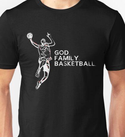 GOD FAMILY BASKETBALL Unisex T-Shirt