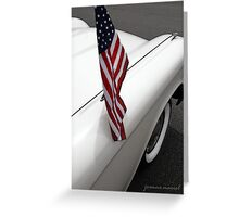 Classic Car 196 Greeting Card