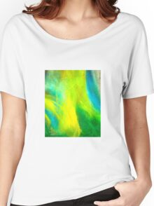 Neon Northern Lights  Women's Relaxed Fit T-Shirt