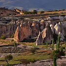 A Valley in Cappadocia by Peter Hammer