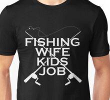 FISHING WIFE KIDS JOB Unisex T-Shirt