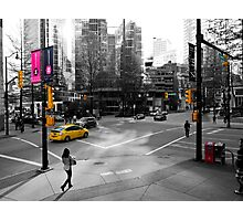 The Colors of Burrard and Hastings Photographic Print