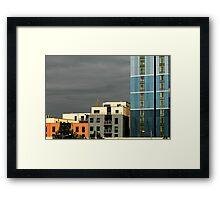 Modern centre blocks Framed Print