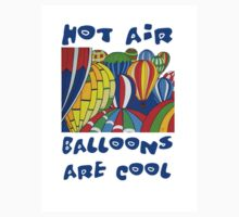 Hot Air Balloons are Cool 2 Kids Tee