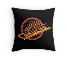Vancouver Canucks - Skate Tee Throw Pillow
