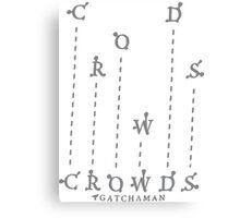 Gatchaman Crowds Insight Canvas Print