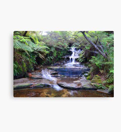 Leura Falls - Leura Canvas Print