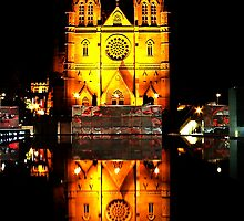 Reflecting Cathedral  by Mark  Lucey