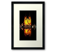 Reflecting Cathedral  Framed Print