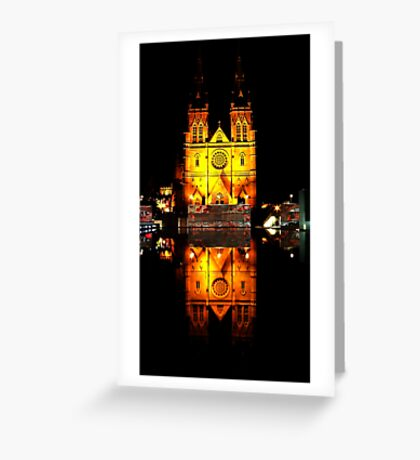 Reflecting Cathedral  Greeting Card