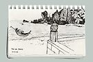 A Thai Beach Scene by James Lewis Hamilton