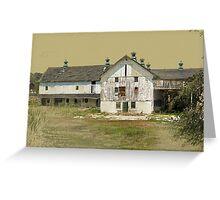 Barn No. 1 Long Green Road Baltimore County Greeting Card