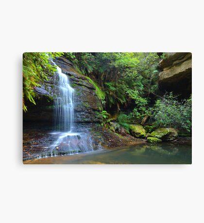 Leura waterfall - Leura Canvas Print