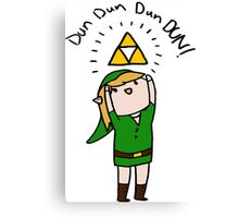 Link Legend of zelda Chibi Canvas Print