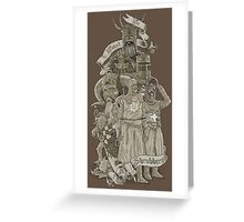 WE WANT A SHRUBBERY! Greeting Card