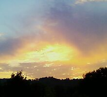 """""""Colorful East Tennessee Sunset"""" by Robert Regenold"""