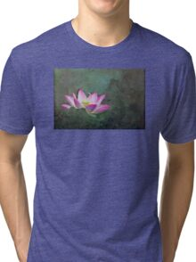 Mystical Lotus Tri-blend T-Shirt