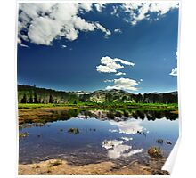Willow Heights Lake, Big Cottonwood Canyon, Utah Poster