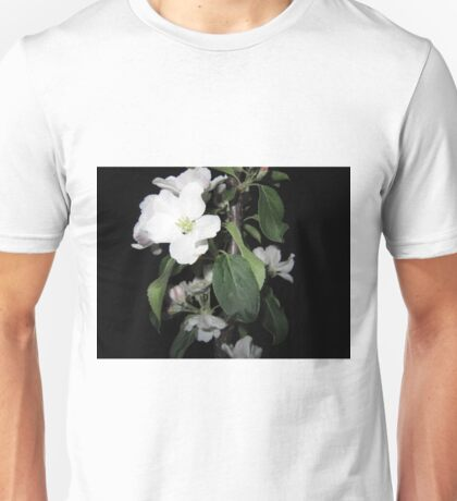 Apple blossom at night (6) Unisex T-Shirt