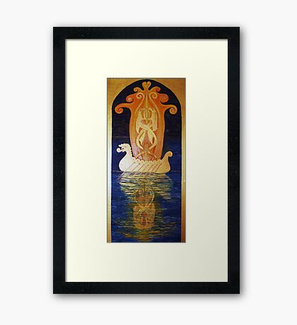 Out of my Dreams Celtic Kelpies Framed Print