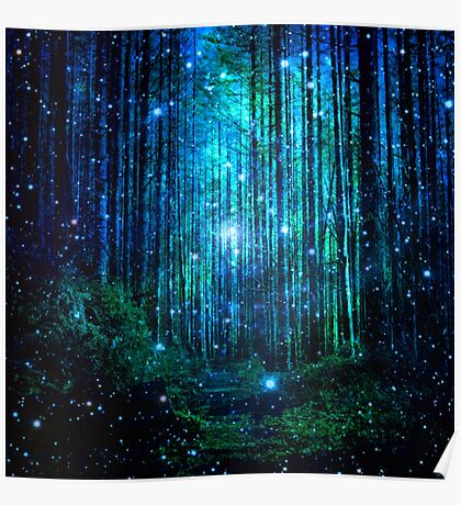 In the magical Forest Poster