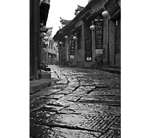 OLD TOWN Photographic Print