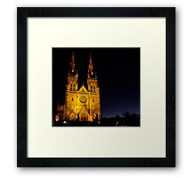 Cathedral Dawn Framed Print