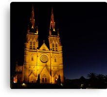 Cathedral Dawn Canvas Print
