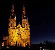 Cathedral Dawn Photographic Print
