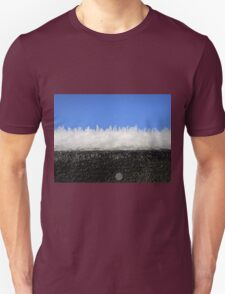 Frost on the shed roof Unisex T-Shirt