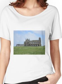 Whitby abbey Women's Relaxed Fit T-Shirt