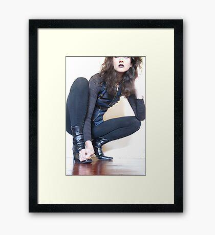 Sly Framed Print