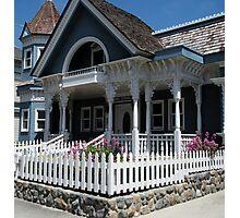 """Cute Cambria Cottage"" Photographic Print"